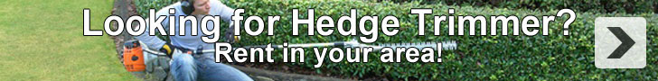 Hire Hedge Trimmers