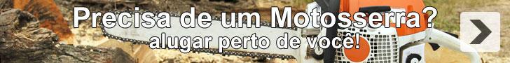 Aluguer Motosserras