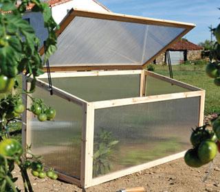 Chassis serre - Chassis de jardin en polycarbonate ...