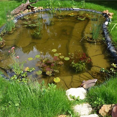 B che de bassin 0 6 mm 4 x 6 m ubbink vente b che for Bache de bassin