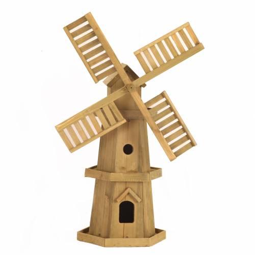 Moulin vent en bois vente moulin vent en bois for Moulin en bois pour jardin