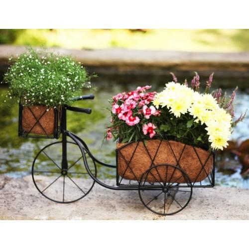 jardini re tricycle en m tal vente jardini re tricycle. Black Bedroom Furniture Sets. Home Design Ideas