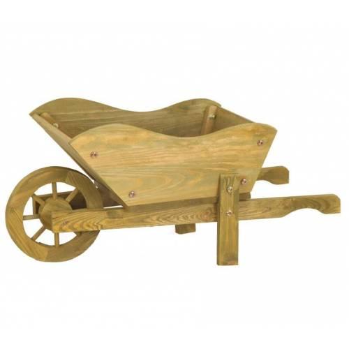 Brouette d corative en bois vente brouette d corative en bois - Decoratie en bois ...