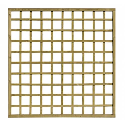 Treillis Bois avec cadre - 180 x 180 cm : vente Treillis Bois avec ...