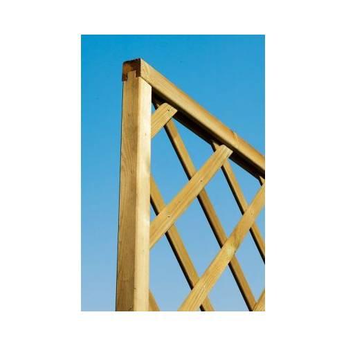 treillis bois avec cadre 180 x 180 cm vente treillis bois avec cadre 180 x 180 cm. Black Bedroom Furniture Sets. Home Design Ideas