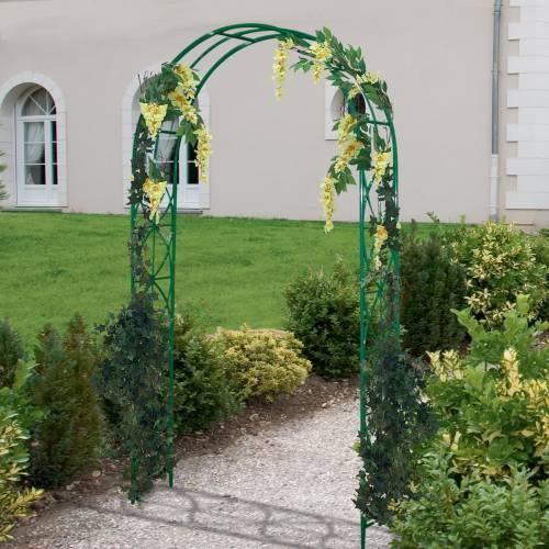 banco de jardim em pvc : banco de jardim em pvc:Arco de jardim em metal 'Arabesco' : venda Arco de jardim em metal