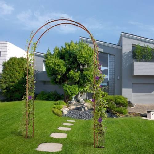 arche jardin m tal 39 wave 39 vente arche jardin m tal 39 wave 39. Black Bedroom Furniture Sets. Home Design Ideas
