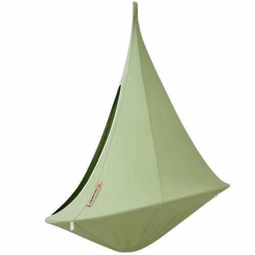 hamac suspendu cacoon simple vert vente hamac. Black Bedroom Furniture Sets. Home Design Ideas