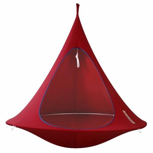 hamac suspendu cacoon double rouge vente hamac suspendu cacoon double rouge. Black Bedroom Furniture Sets. Home Design Ideas