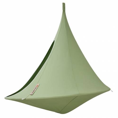 hamac suspendu cacoon double vert vente hamac suspendu cacoon double vert. Black Bedroom Furniture Sets. Home Design Ideas