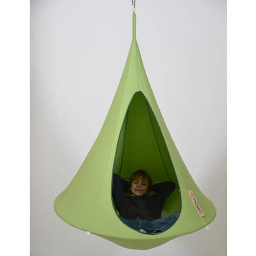 hamac suspendu cacoon enfant vert vente hamac. Black Bedroom Furniture Sets. Home Design Ideas