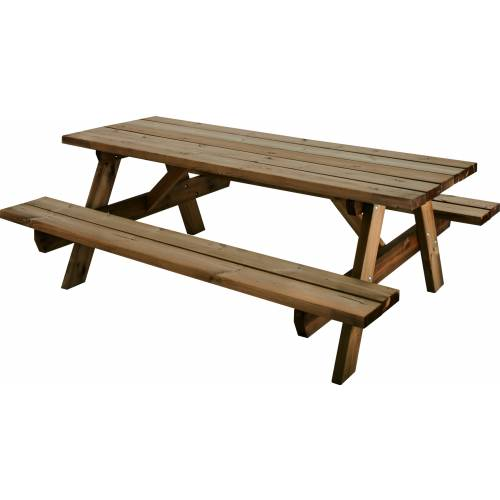 Table de jardin en bois garden 200b burger vente table for Table burger