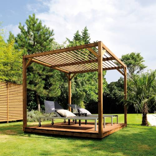 pergola en bois cubik burger vente pergola en bois. Black Bedroom Furniture Sets. Home Design Ideas