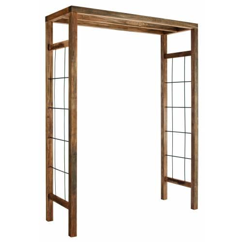 support pour glycine bois. Black Bedroom Furniture Sets. Home Design Ideas