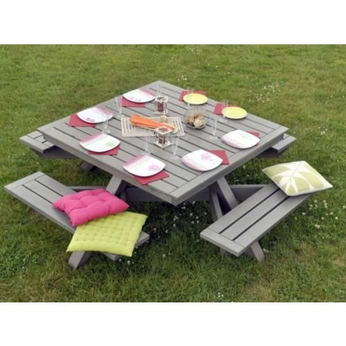 Table de jardin carr e vente table de jardin carr e - Table jardin carree calais ...