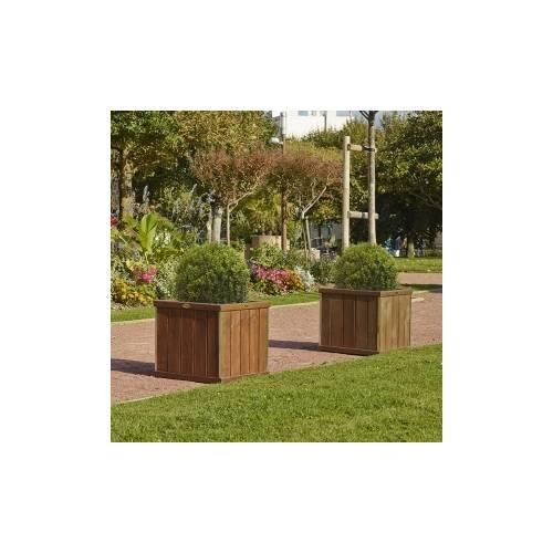 Jardiniere Bois Design : Jardini?re Bois Design – Carr?e : vente Jardini?re Bois Design