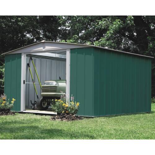 Abri de jardin en acier 11 6 m2 chalet jardin vente for Abri jardin acier