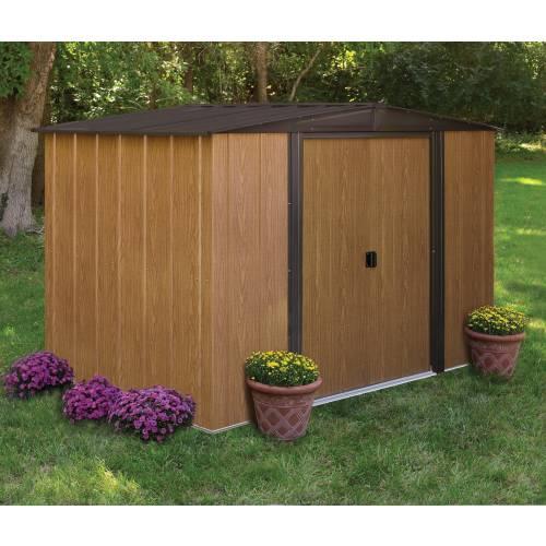 Abri de jardin en acier 4 58 m2 chalet jardin vente for Abri de jardin acier