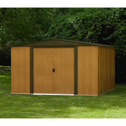Abri de jardin en acier 9 3 m2 chalet jardin vente for Abri de jardin acier