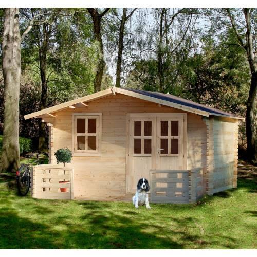 Abri de jardin en bois bois 34 mm 20 m2 vente abri - Abri de jardin moins de 20 m2 ...