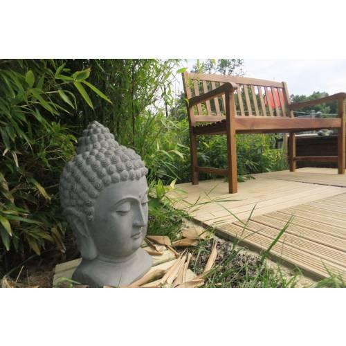 statuette de jardin nirvana hauteur 48 cm vente. Black Bedroom Furniture Sets. Home Design Ideas