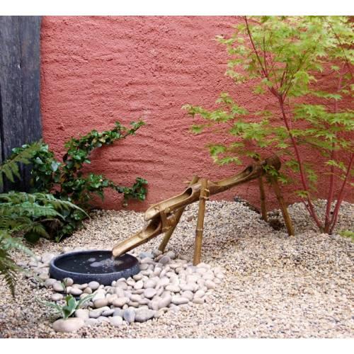 Cascade en bambou pour jardin japonais vente cascade en for Achat jardin japonais