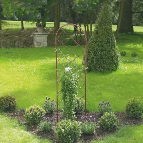 Treillis m tallique pour plantes grimpantes vente for Support pour plantes grimpantes