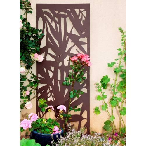 treillis d coratif en m tal palmier 0 6x1 5m vente. Black Bedroom Furniture Sets. Home Design Ideas