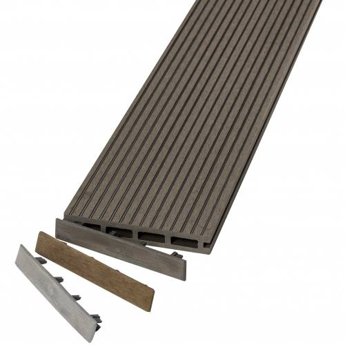 Kit terrasses bois composite rectangle 2 9x4 m vente kit terrasses bois - Kit terrasse composite ...