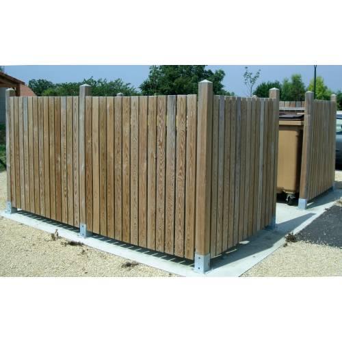 Cache conteneur en bois vente cache conteneur en bois for Achat conteneur prix
