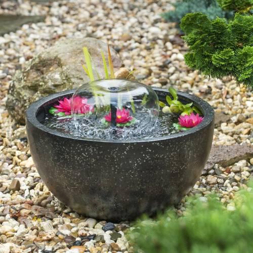 Fontaine de jardin MINI BASSIN Noir - Ubbink : vente ...