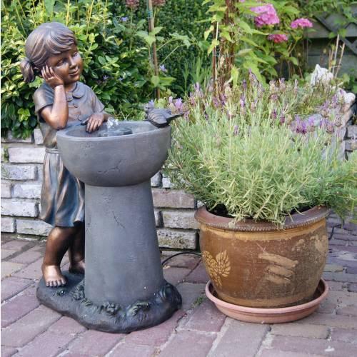 Fontaine de jardin detroit ubbink vente fontaine de for Jardin etroit