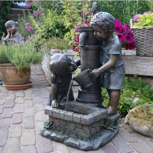 Fontaine de jardin atlanta ubbink vente fontaine de for Fontaine de jardin