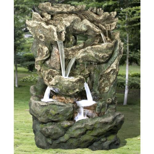 Fontaine de jardin dallas ubbink vente fontaine de - Modele fontaine de jardin ...