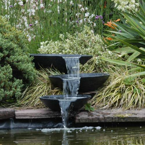 Fontaine de jardin nova scotia ubbink vente fontaine for Achat plante bassin