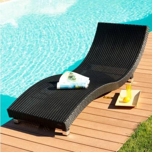 Bain de soleil 1 place en r sine tress e vente bain de - Bains de soleil resine tressee ...