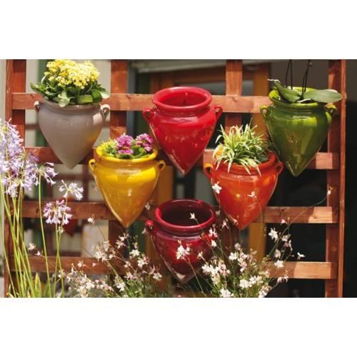 poterie suspendre jarre clair de terre vente poterie. Black Bedroom Furniture Sets. Home Design Ideas