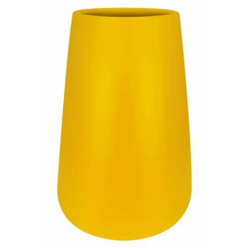 Pure Cone High – D.55 H.84 – Ocre – Elho : vente Pure Cone High – D ...