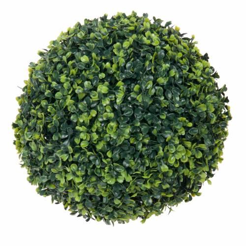 Plante artificielle buis boule mica vente plante for Plante boule artificielle