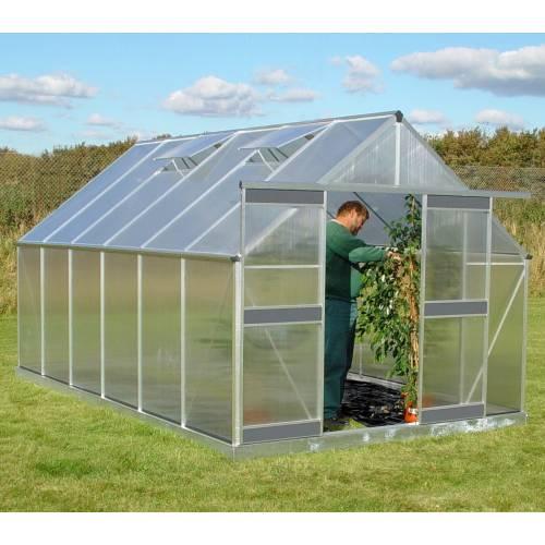 Serre de jardin en polycarbonate 12 2 m acd vente serre de jardin en p - Serre de jardin en polycarbonate belgique ...