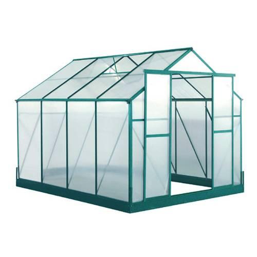Serre 7 44 m2 lotus lams vente serre 7 44 m2 lotus - Polycarbonate prix m2 ...