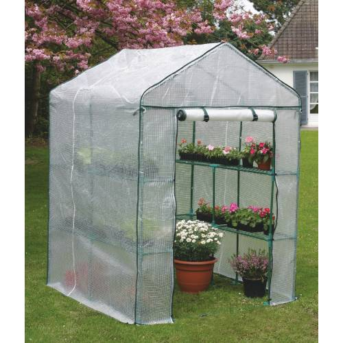 Serre de jardin greensaison 2 m2 nortene vente serre - Fabriquer une petite serre de jardin ...