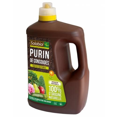 Purin de consoudes 2 5 litres solabiol vente purin for Purin de consoude achat