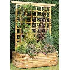 Vente supports pour plantes grimpantes for Jardiniere pour plante grimpante