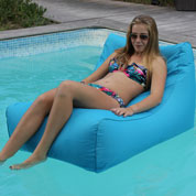Bain de Soleil Gonflable – Turquoise - Sitin Pool