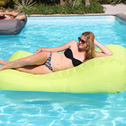 Chaise Longue Gonflable – Vert Anis - Sitin Pool
