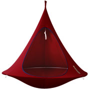 Hamac Suspendu - Cacoon Double - Rouge