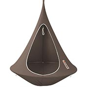 Hamac suspendu - Cacoon Simple - Taupe