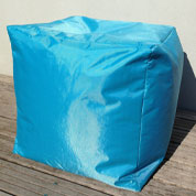 Pouf CUBE – Turquoise - Sunvibes