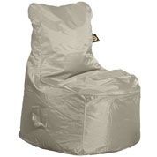 Pouf Fauteuil – Taupe - Sunvibes